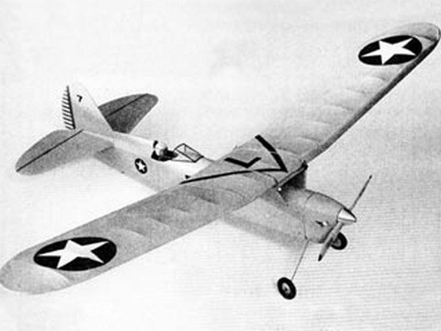 Gyrfalcon (oz10007) by Dick Ealy from Flying Models 1951