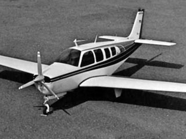 Beechcraft Bonanza A-36 (oz10009) by Bud Caddel from Scale RC Modeller 1980