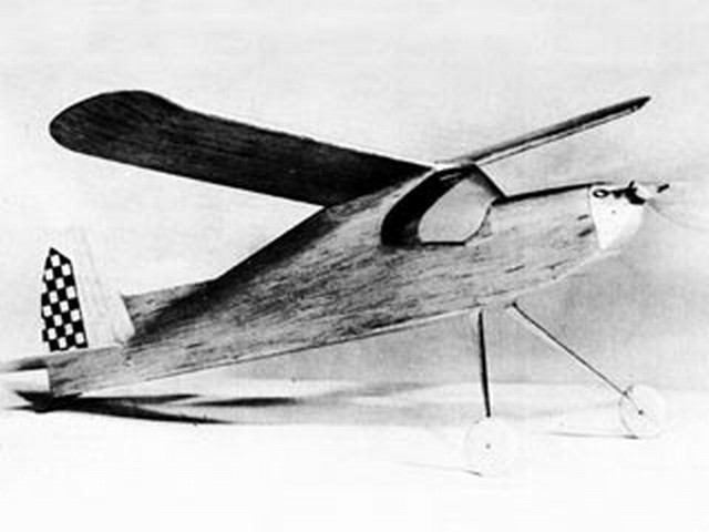 Skyscooter (oz10010) by Lloyd Hunt from Model Airplane News 1952