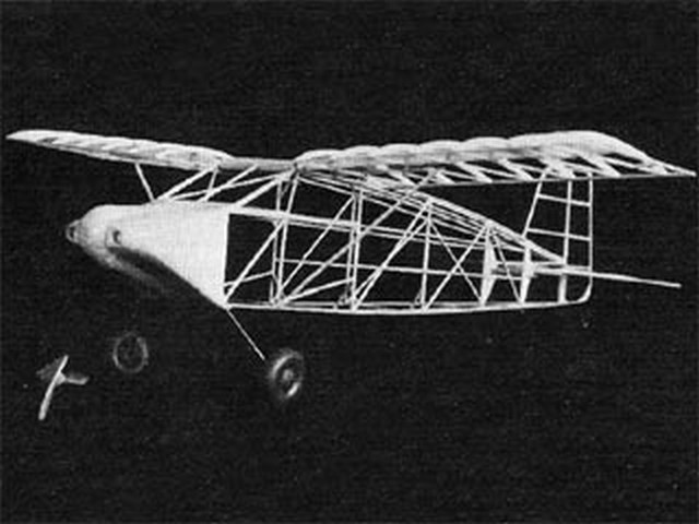 Wittman Tailwind (oz10081) by Perry Peterson from Model Airplane News 1981
