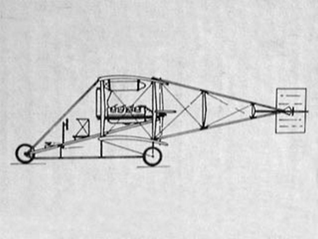 Curtiss A Pusher (oz10104) by Art Reiners from R/N Models
