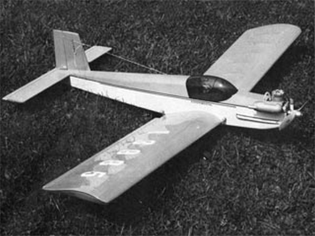 Indy Re-Trainer (oz10109) by Jack Sheeks from Flying Models 1977