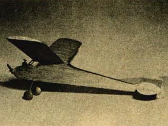 Itsy Bitsy (oz1014) by Bob Buragas from Flying Models 1954