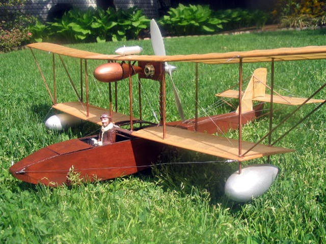 Leveque 1912 Flying Boat (oz10143) by Art Reiners from R/N Models