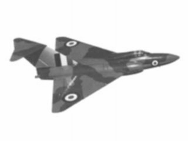 Gloster Javelin (oz1016) by Albert E Hatfull from Keil Kraft