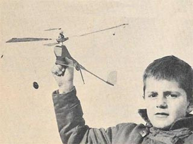 Gyro-copter (oz10184) by Frank Evans from Model Airplane News 1960