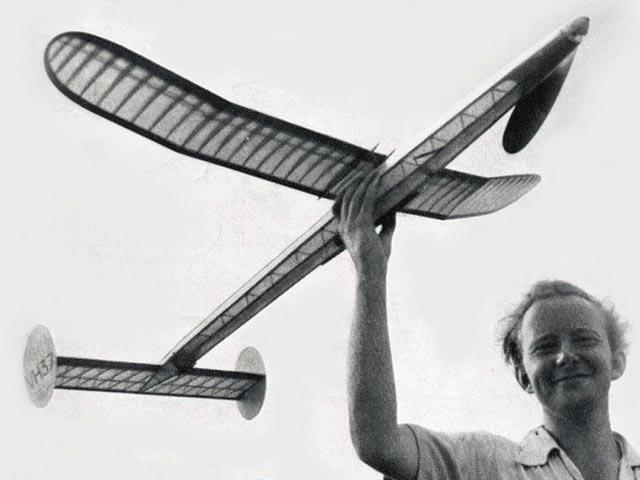 1954 Wakefield Winner (oz10194) by Alan King from Model Airplane News 1954