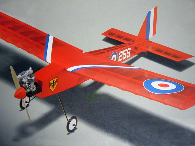 Barnstormer 25S (oz10219) from OK Model Pilot 1985