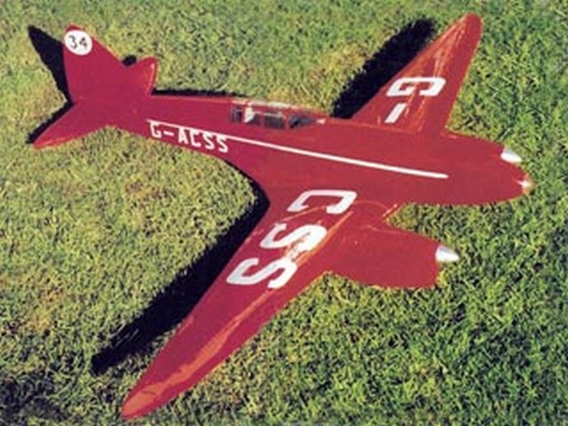 Comet (oz10224) by J Alan Hulme from Model Flyer 2002