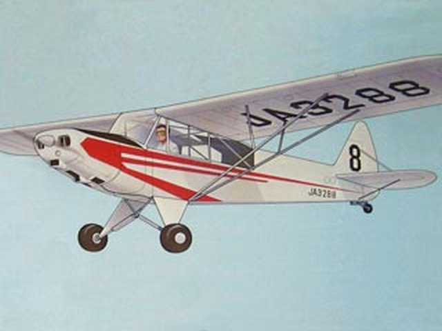 Super Cub PA-18 - completed model photo