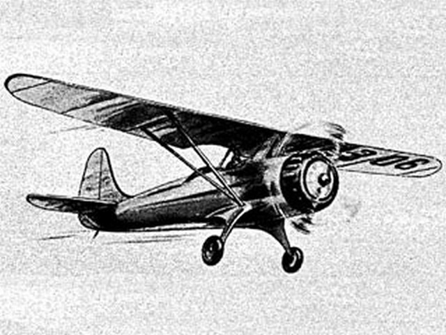 Fairchild Model 22 - completed model photo