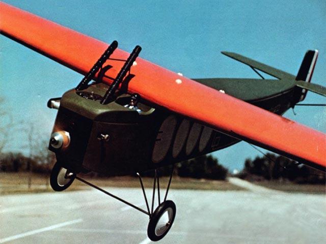 Fokker T2 - completed model photo