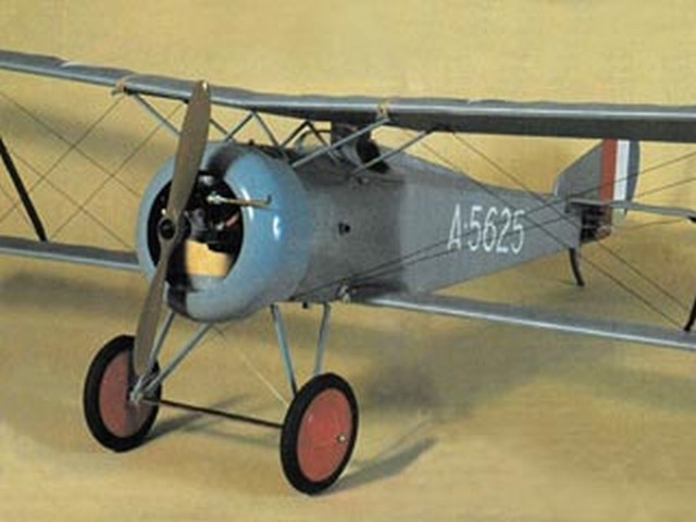 Hanriot HD-1 (oz10298) by Bob Wright from RCME 1990