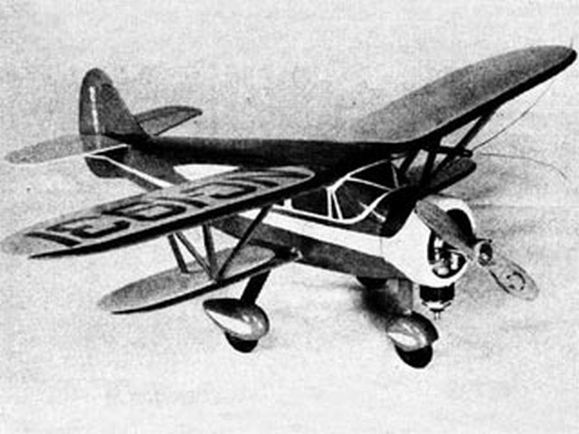 Waco N - completed model photo