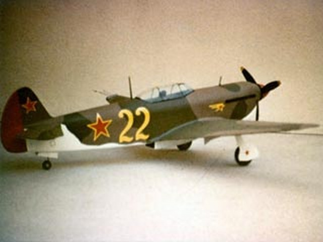 YAK 9 - completed model photo