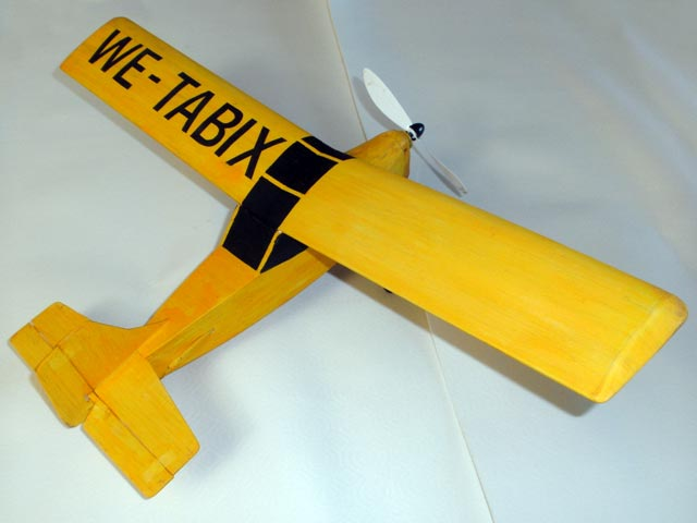 Weetabix Wonderplane - completed model photo