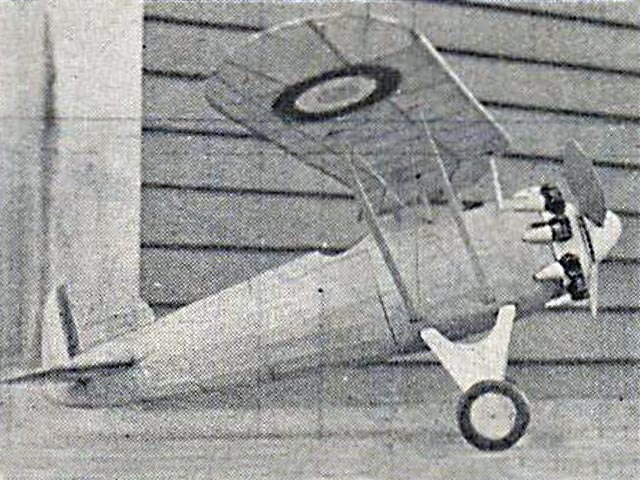 Morane Saulnier 221 C-1 (oz1034) by Richard Rioux from Model Airplane News 1933