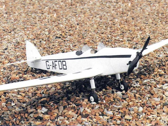 DH.94 Moth Minor (oz10377) by Mike Reynolds from Radio Control Scale Aircraft 1996