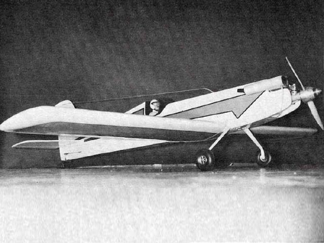 Graduate (oz10381) by Don Prentice from Model Airplane News 1977