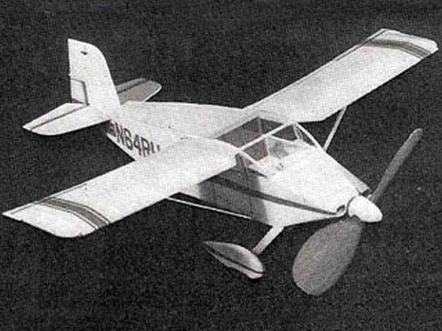 Wittman Tailwind (oz1039) by Butch Hadland from Aeromodeller 1976