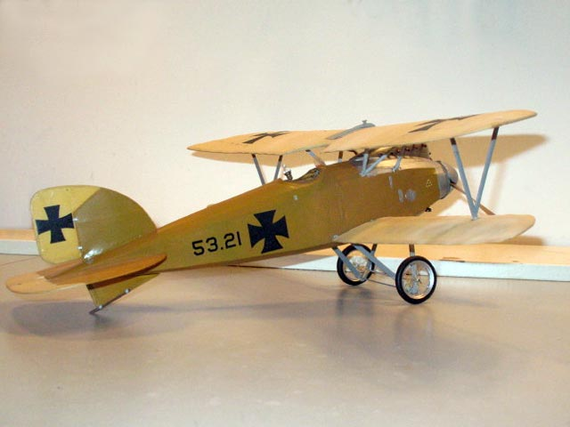 Albatros D.III (oz10407) by Pat Daily from DC Maxecuters 1986