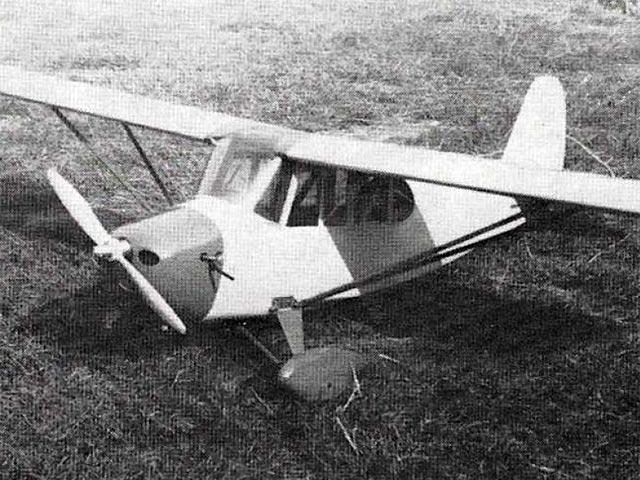 Aeronca Champion (oz10414) by Don Stothers from RCME 1971