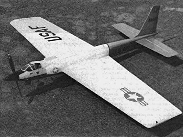 U-2 Stunt - completed model photo
