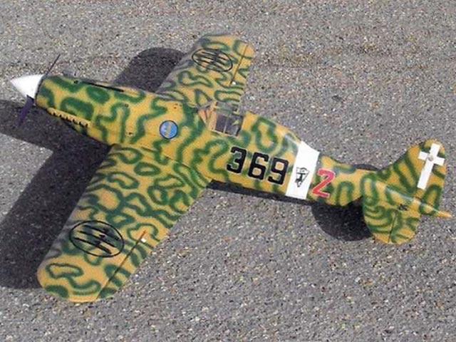 Macchi 202 Folgore - completed model photo