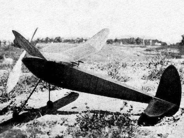 1938 Moffet Winner (oz10440) by Roy Nelder from Air Trails 1938