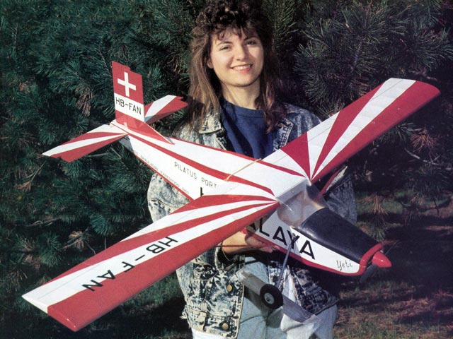 Pilatus PC-6 Porter (oz10452) by Laddie Mikulasko from RCMplans 1991