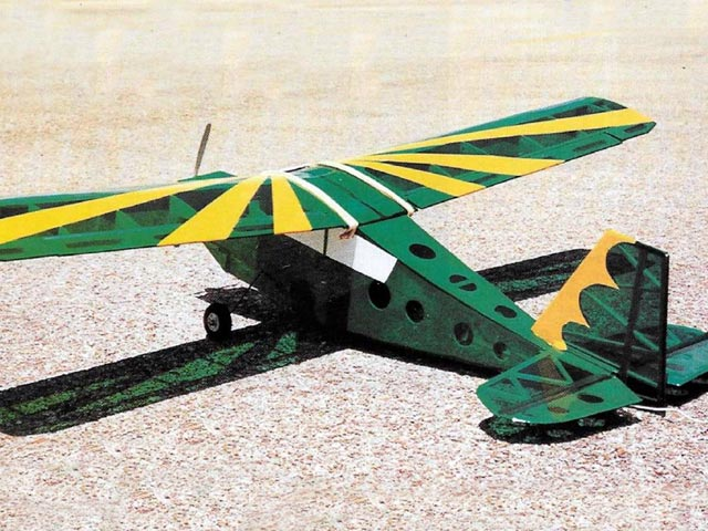 Citabria (oz10463) by Gus Morfis from Sailplane and Electric Modeller 2001