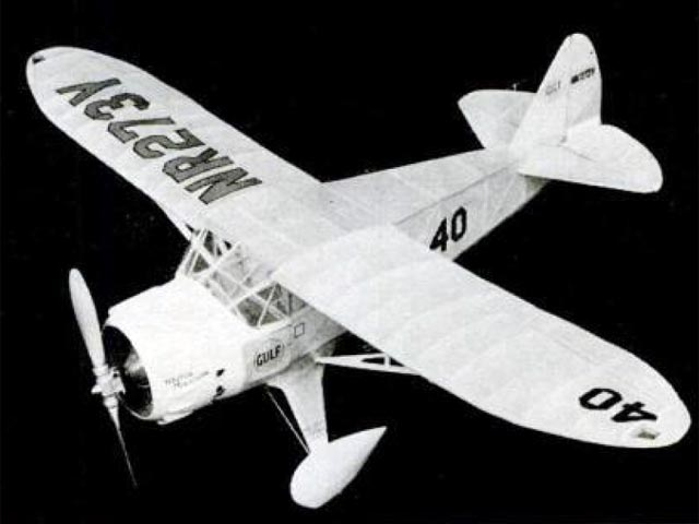 Mr Mulligan (oz10480) by Paul Lindberg from Popular Aviation 1935