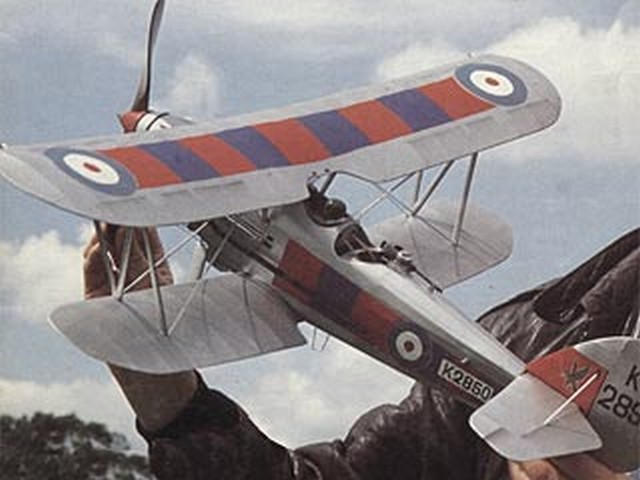 Hawker Demon (oz1049) by TR Kennedy from Keelbild, Model Shop Newcastle