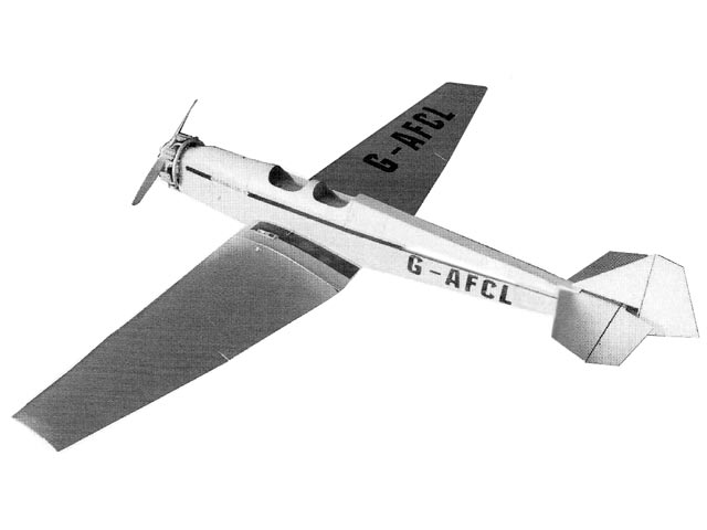BAM Swallow II (oz10502) by Frank Whalley from Radio Control Scale Aircraft 1997