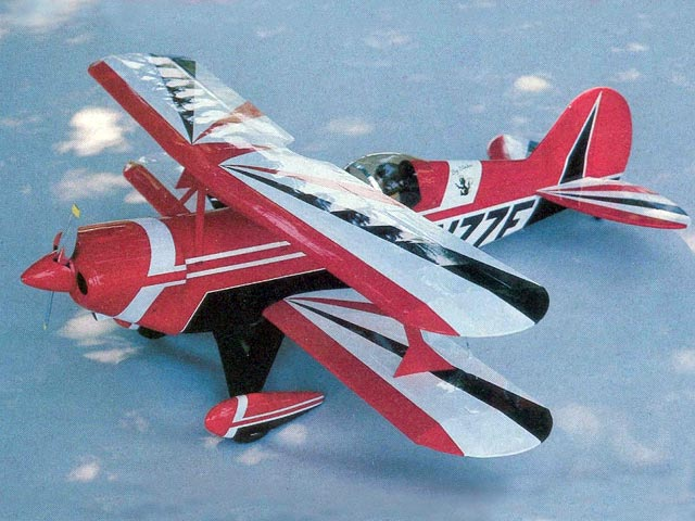 Pitts S2A - completed model photo