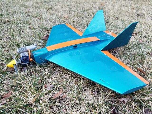 Shrike 10 - completed model photo