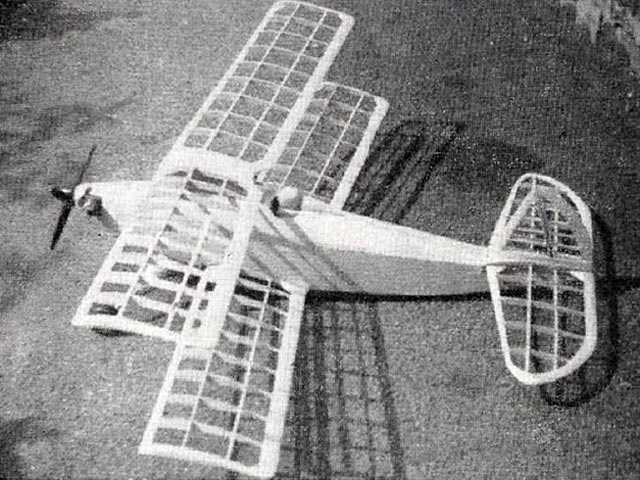 Gadfly (oz10525) by W Lister from Model Aircraft 1958