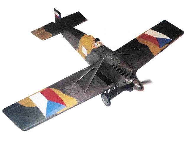 Avia BH-3 (oz10535) by Andrew Hewitt from Model Flyer 2002