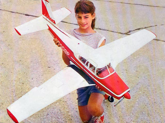 Piper Comanche (oz10538) by Florian Piorkowski from Model Airplane News 1962