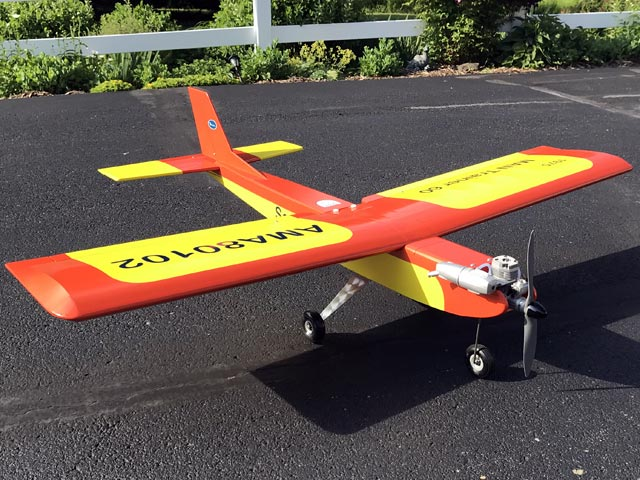 MAN Trainer 60 Senior (oz10544) by Joe Bridi from Model Airplane News