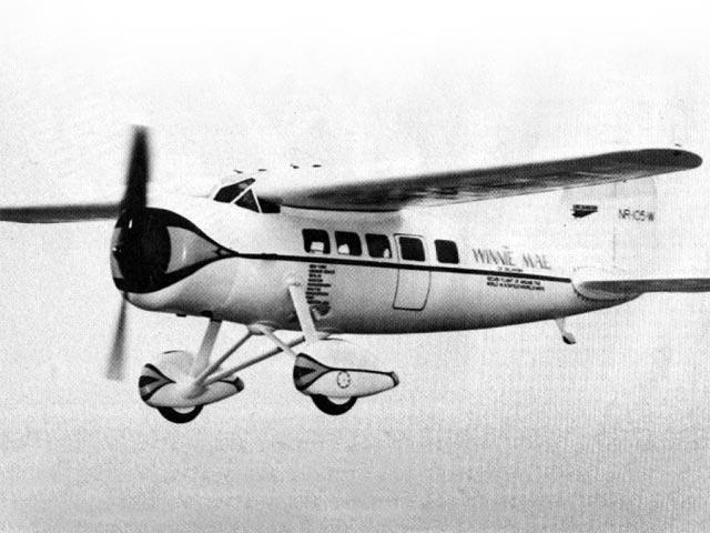 Lockheed Vega (oz10545) by George Meyer from Flying Models 1977