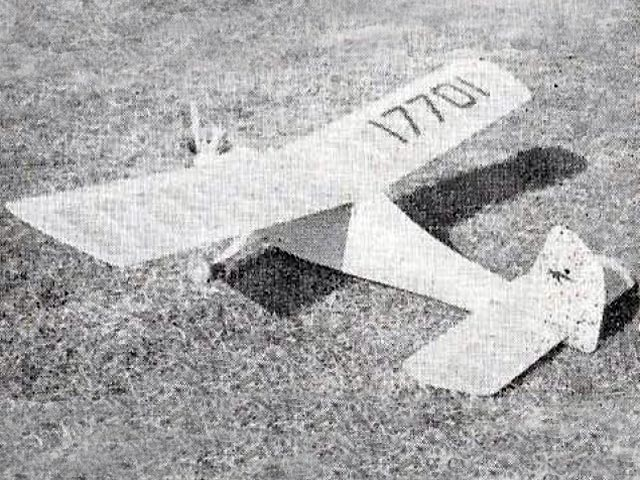 Pika (oz10561) by W Lister from Model Aircraft 1961
