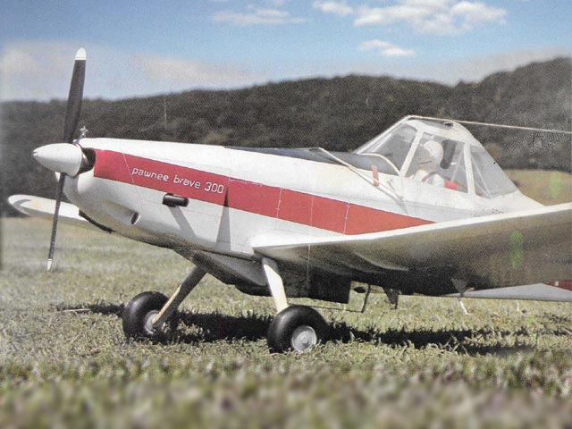 Piper PA-36 Pawnee Brave 300 - completed model photo