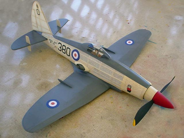 Westland Wyvern - completed model photo