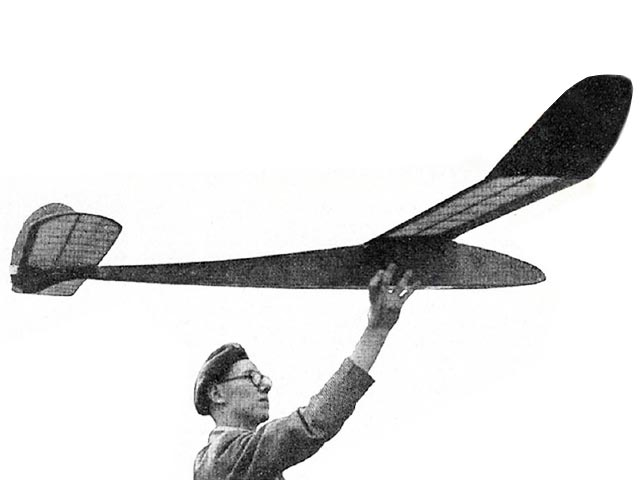 Mantis (oz10633) by GJ Lefever from Model Aircraft 1952
