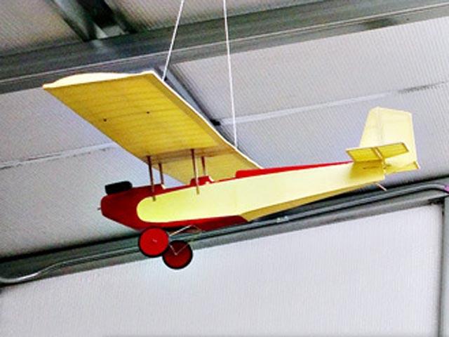 Pietenpol Air Camper - completed model photo