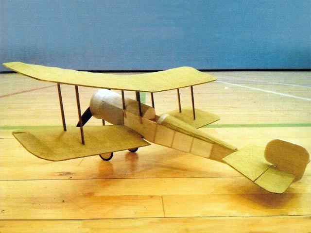 Bristol Scout (oz10649) by Peter Rake from Flying Scale Models 2017