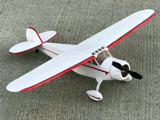 Cessna C-165 Airmaster - completed model photo