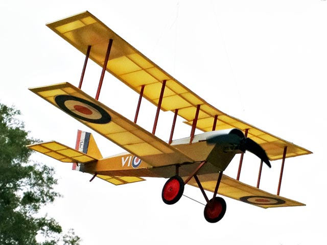 DH6 - completed model photo