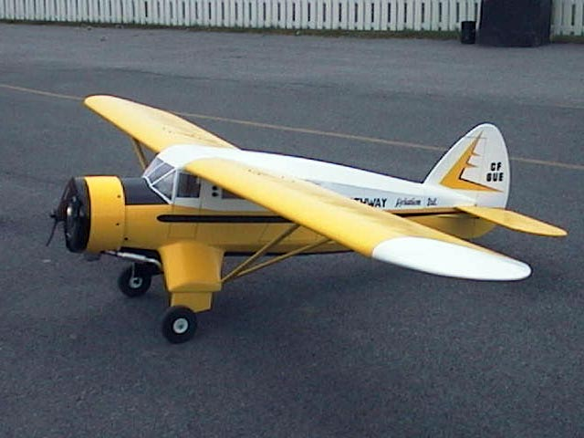 Noorduyn Norseman Mk V - completed model photo